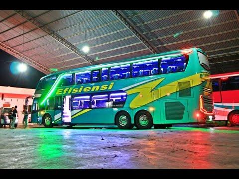 Bus Tingkat Mewah Efisiensi Mercedes-Benz OC500RF 2542