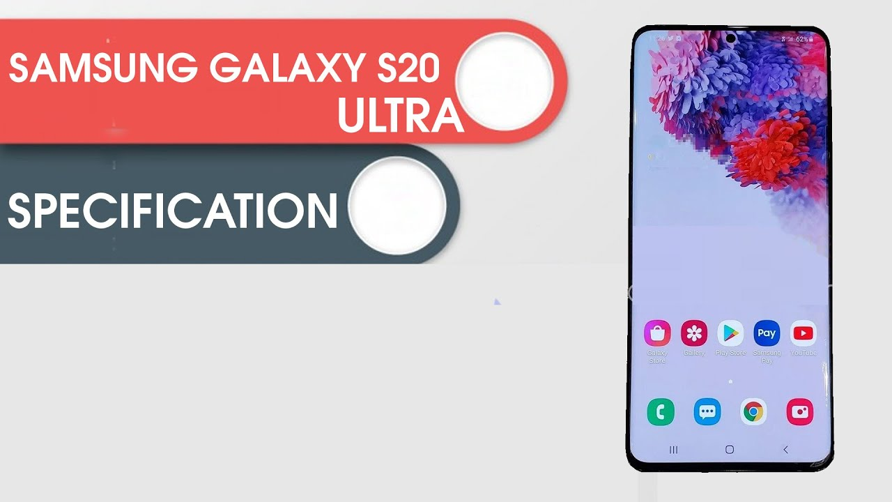 Samsung Galaxy S20 Ultra 5G | Specification |Launch Date | Leaked Images Specs | Features