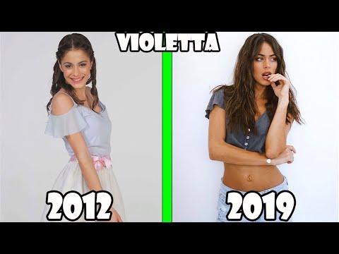 VIOLETTA AVANT ET APRÈS 2019