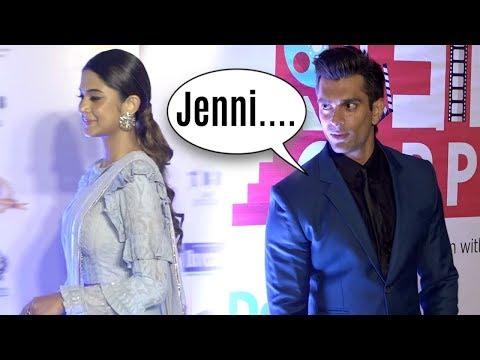 Jennifer Winget Ignores Ex Husband Karan Singh Grover