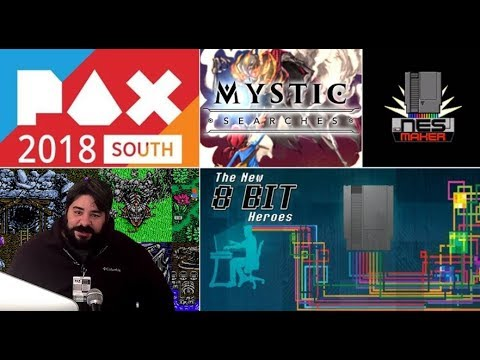 NES Maker - Mystic Origins / Searches - New 8 Bit Heroes at PAX South 2018
