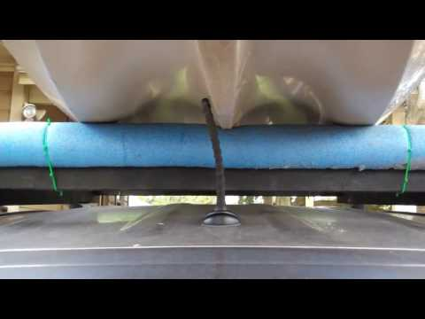 DIY Cajun - No Cost DIY Kayak Roof Rack