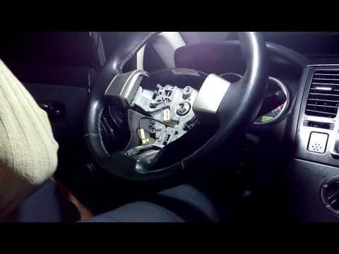 Troca da cinta do airbag do Nissan tida 2008