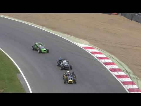 Formation lap Irish Supercars race   Brands Hatch Formula Ford festival 22oct17 1243p