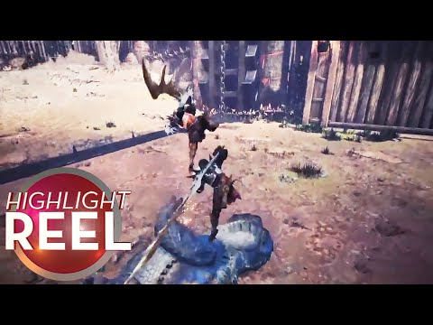 Highlight Reel #371 - Monster Hunters Kill In Perfect Sync
