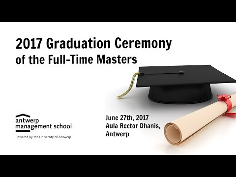 2017 AMS Graduation Ceremony (Full-Time Masters)