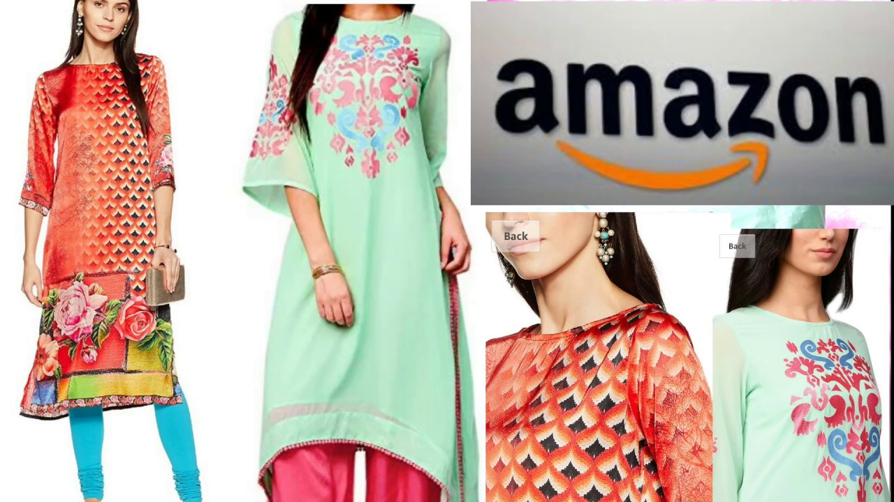 Amazon kurta haul 2018 /unboxing & review /online shopping haul/ Branded kurta
