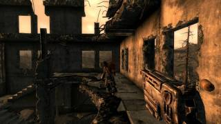 Fallout 3 GOTY Gameplay, Part 5:  Engaging Raiders at Springvale Elementary School (in 1080p HD)