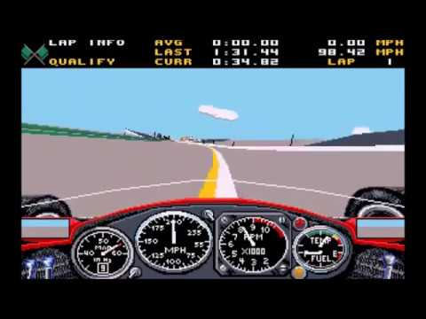 History of IndyCar Video Games