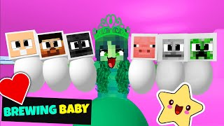 BREWING BABY MONSTER SCHOOL MINECRAFT ANIMATION