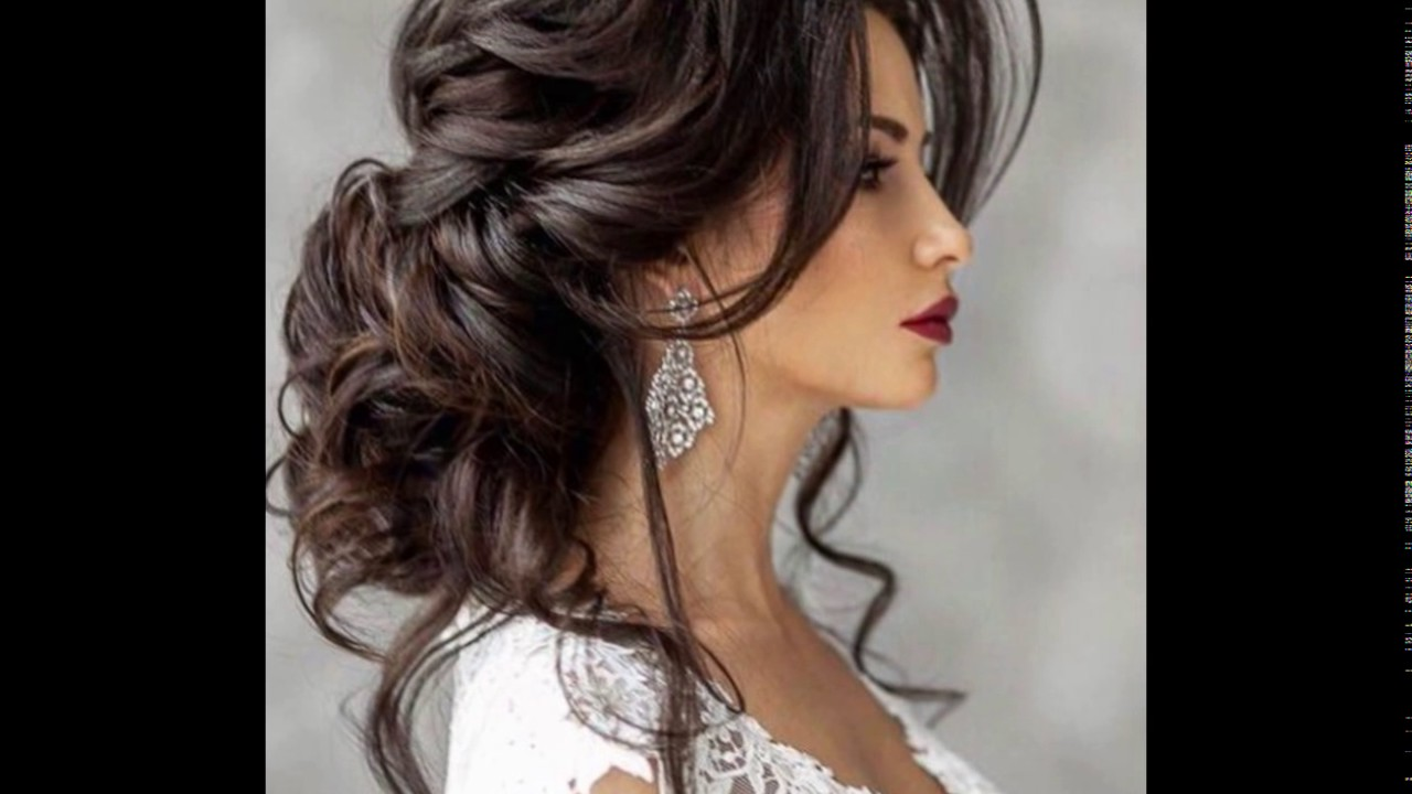 Peinados Originales Para El Dia De La Boda Youtube - Peinados-de-novia-originales