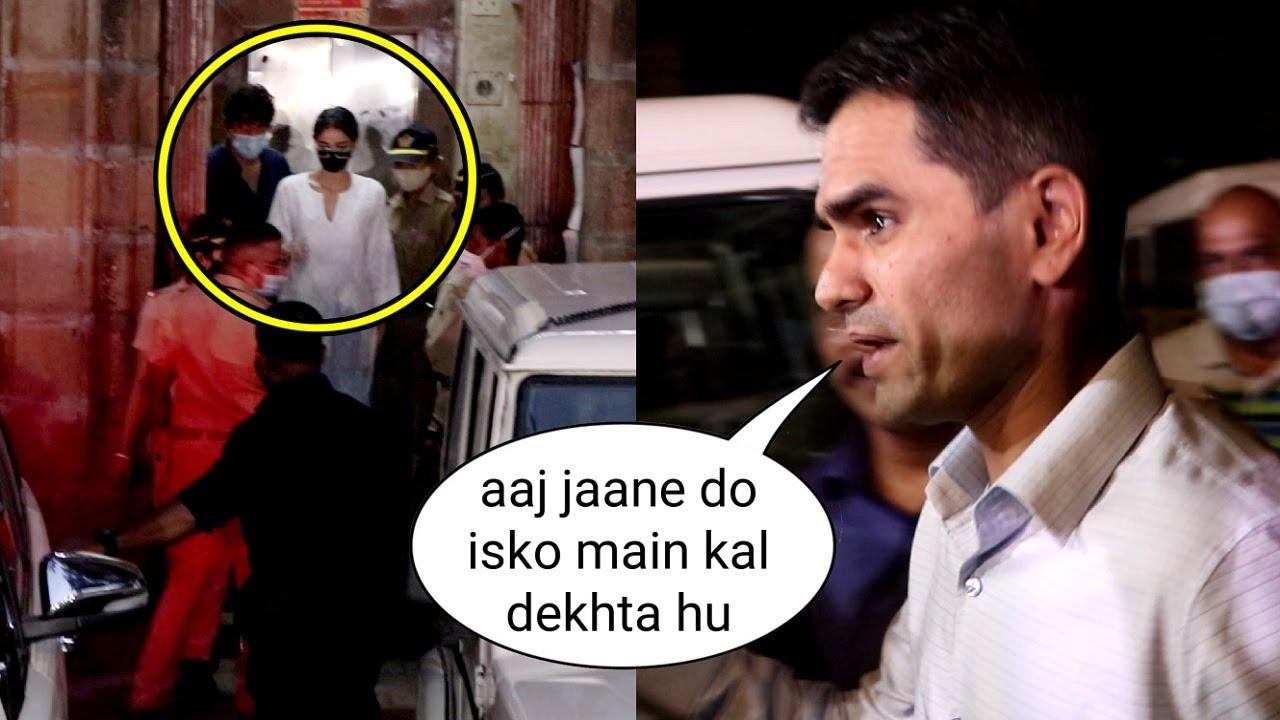 Ananya Pandey Sent Home By NCB Dabangg Zonal Head Sameer Wankhede In Shahrukh Khan Son Narco Case