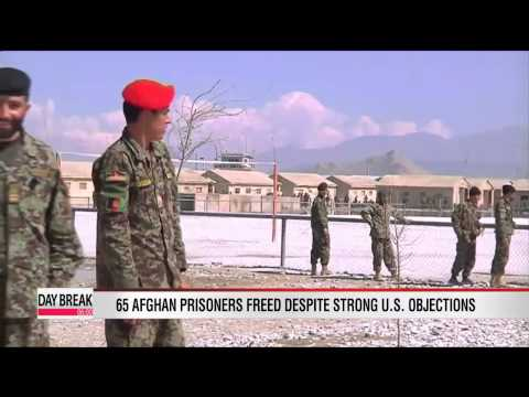 Afghanistan releases 65 prisoners despite strong U.S. protest