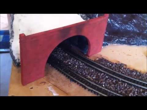 Building a Tunnel for your Model Railway part 5  Tunnel portals