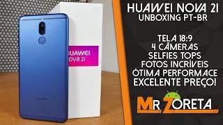 Huawei Nova 2i - O MELHOR custo-benefício da Huawei! - Unboxing PT-BR