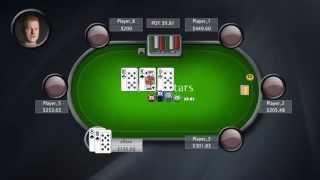 Gra w pokera | Trafienie trójki | Poker Bites