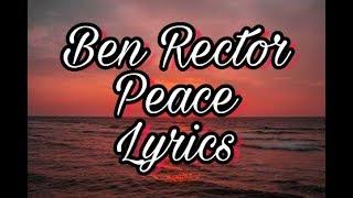 Video Ben Rector - Peace - lyrics [Lyric video] download MP3, 3GP, MP4, WEBM, AVI, FLV Agustus 2018