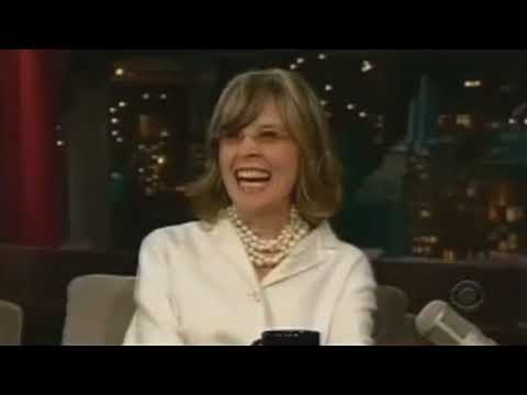 Diane Keaton on David Letterman  2008