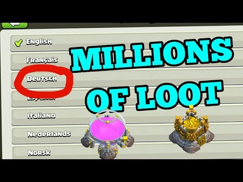 Clash of clan (BEST LANGUAGE TO FIND LOOT)COC