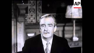 NATO SESSION and INTERVIEW WITH SIR ANTHONY EDEN