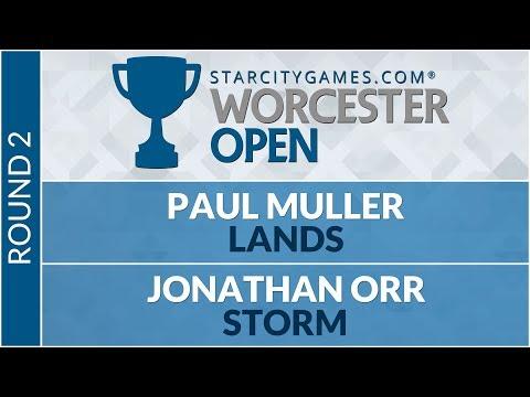 SCGWOR - Round 2 - Paul Muller vs Jonathan Orr [Legacy]