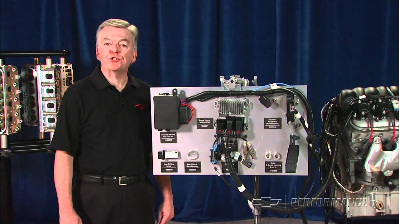 chevy performance engine controller kits complete engine control solutions youtube [ 1280 x 720 Pixel ]