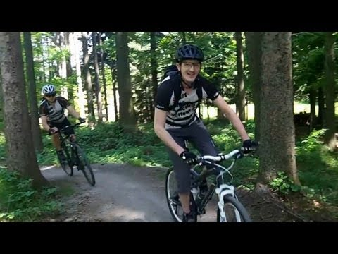 S.E.K.S. Team - Singletrek pod Smrkem - 2013-05 Travel Video