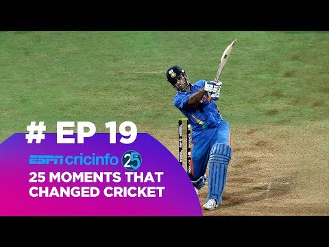 How Dhoni's six to win the World Cup changed cricket (19/25)