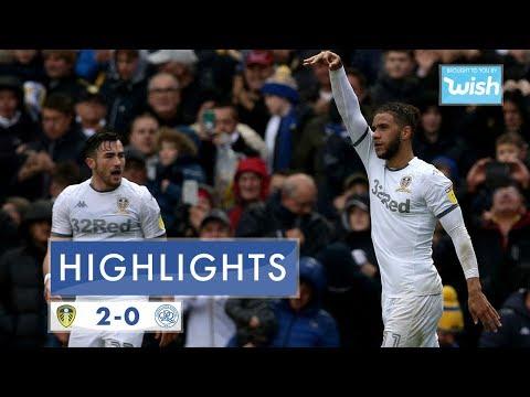 Highlights | Leeds United 2-0 Queens Park Rangers | 2019/20 EFL Championship