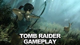 New Tomb Raider Gameplay Demo - Microsft E3 2012 Press Conference