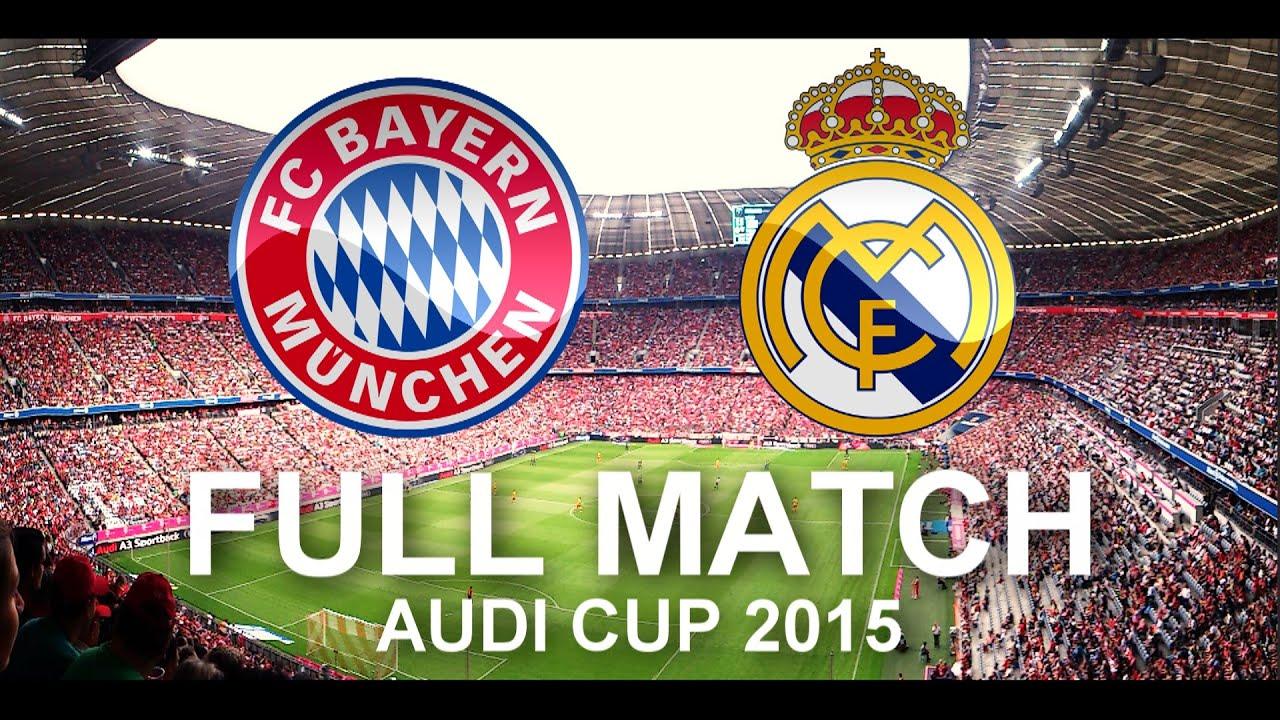 bayern munich vs real madrid full match