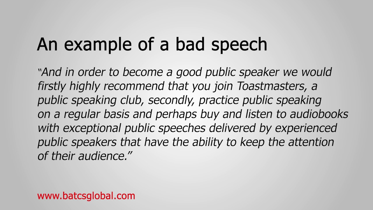 Get Rid of your Accent: Rules of public speaking - YouTube