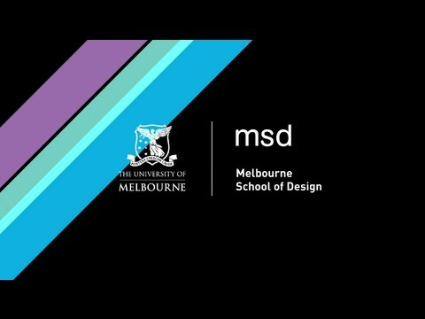Learn about the Melbourne School of Design experience