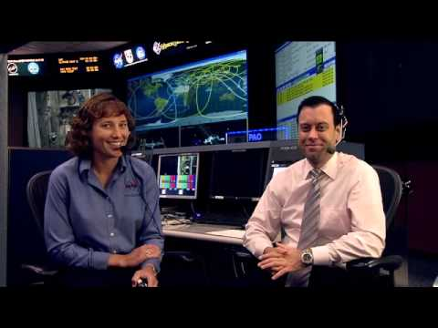 Students Speak With NASA Astronaut Dottie Metcalf-Lindenburger