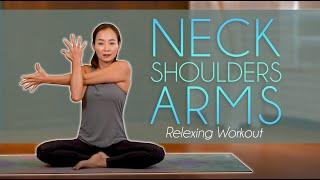 〔스트레칭〕 목, 어깨, 팔 집중 이완 운동 / NEC…