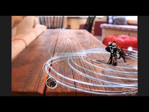 Dispersion Augmented Reality RPG