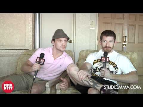 Mike Brown & Brad Pickett - StudioMMA UFC 146
