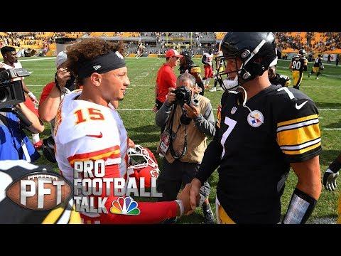 Patrick Mahomes benefiting from sitting for year I Pro Football Talk I NBC Sports