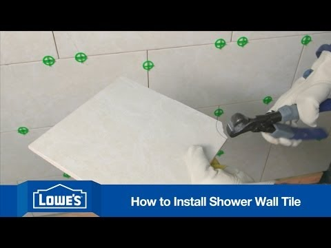 how to tile a shower wall 19353
