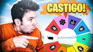 RULETA CHALLENGE en FORTNITE!