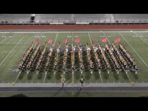 Nederland High School Band 2016 - UIL Region 10 Marching Contest