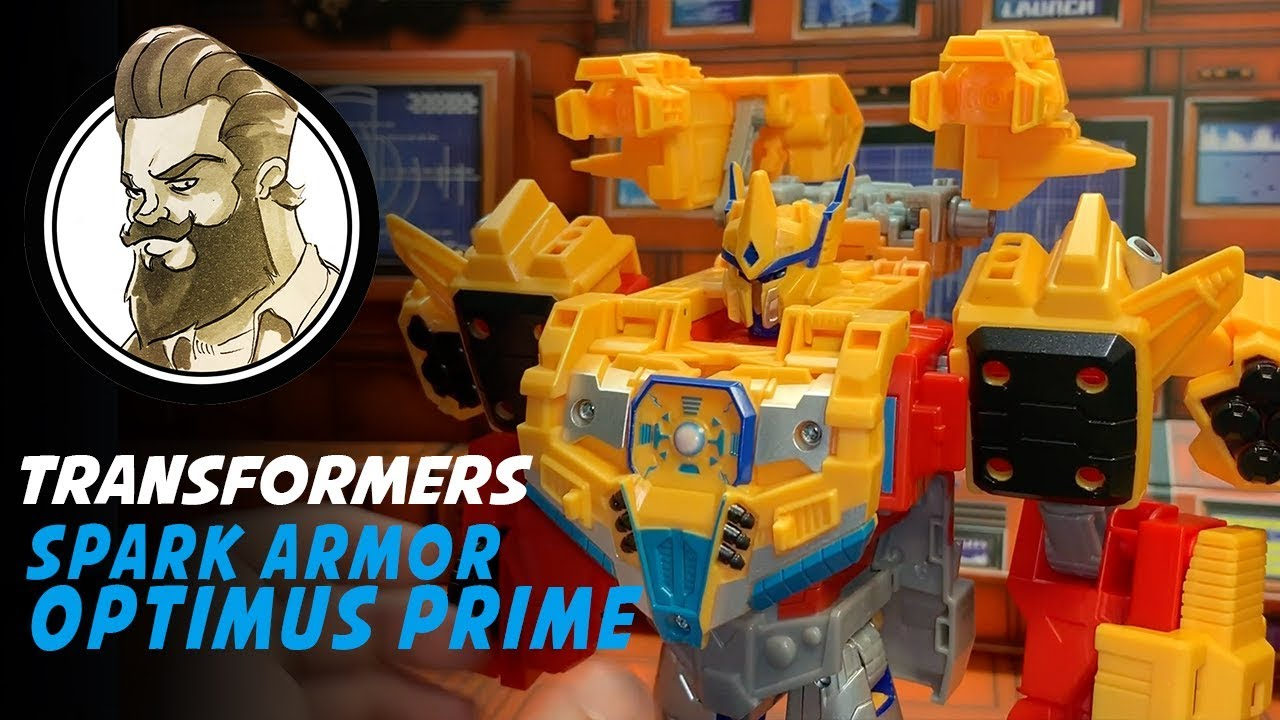 REVIEW - Cyberverse Spark Armor Optimus Prime