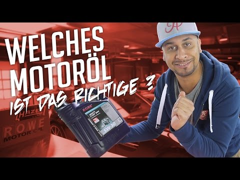 JP Performance - Welches Motoröl ? | ROWE MOTOR OIL