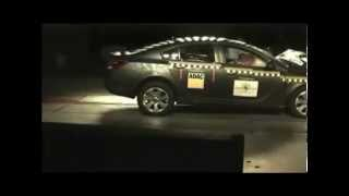Crash test Opel Insignia 2008