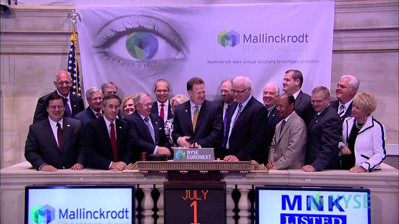 Mallinckrodt Celebrates Successful Spinoff from Covidien