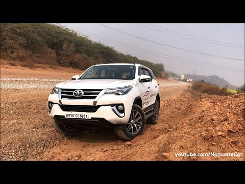 Toyota Fortuner 2.8 Sigma 4 AN160 2017 Real life review