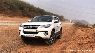 Toyota Fortuner 2.8 Sigma-4 AN160 2017 | Real-life review