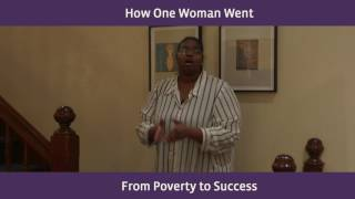 How One Woman Went From Poverty to Success