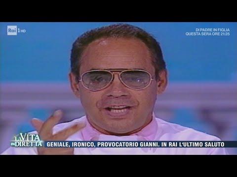 Gianni Boncompagni: geniale, ironico, provocatorio - La Vita in Diretta 18/04/2017
