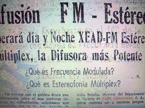 LA BUENA ONDA 102 XEAD FM  RADIO 1982 GUADALAJARA